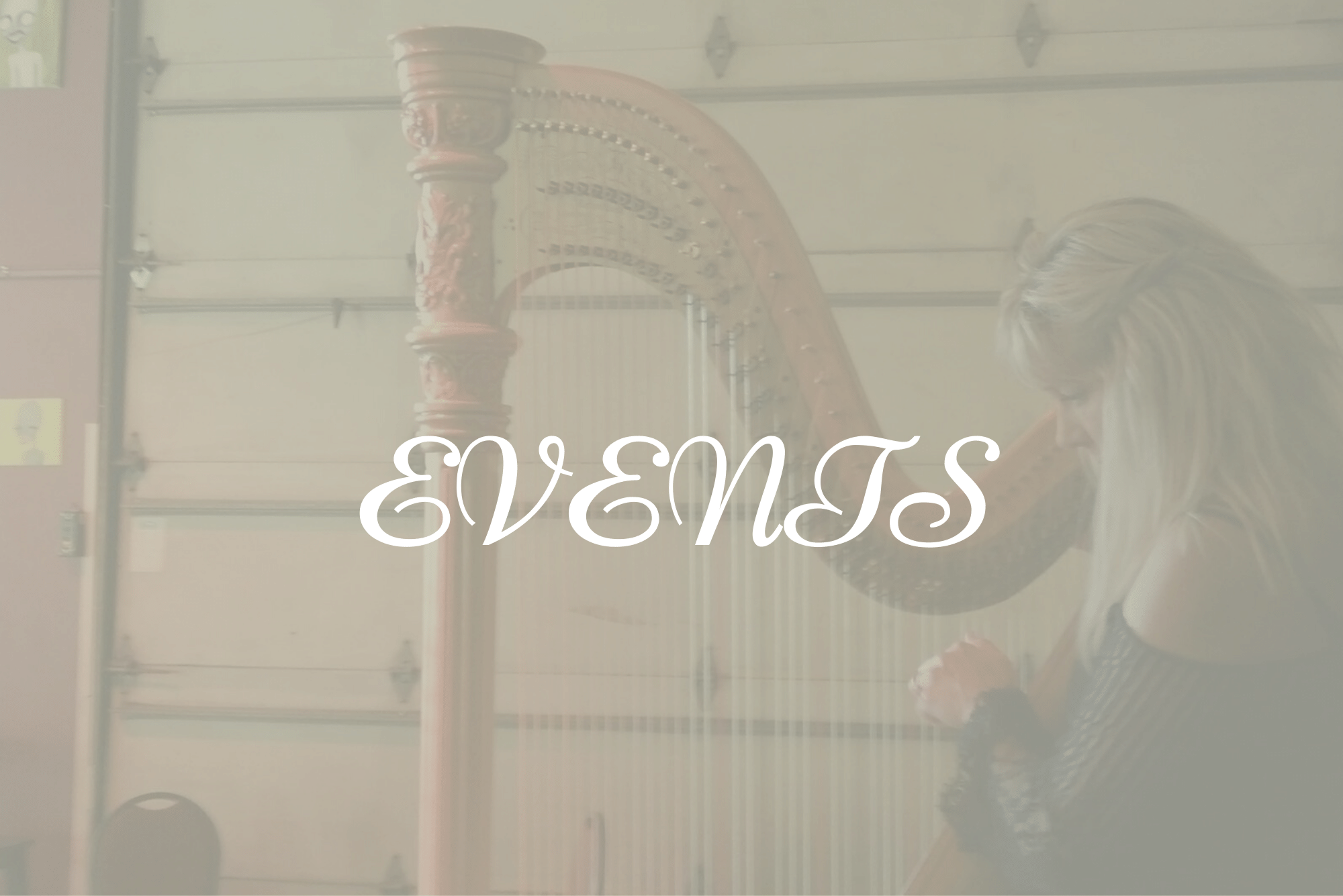 Harpist Wedding Events